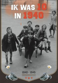 Ik was 10 in 1940 Glenn Geeraerts Ww2, 5 Mei, Baseball Cards, School, Movies, Movie Posters, Universe, Films, Film Poster
