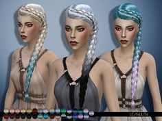 503 Best Sims 4 Hair images in 2017 | Hairdos, Games, Sims 4 teen