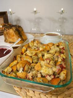 Apple, Onion, and Celery Stuffing