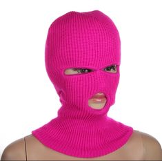 Unisex, Polyester Spandex, Pink, Masks, Crochet Hats, Beanie, Products, Fashion, Hoods