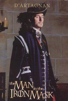 "Charles Artagnan (Gabriel Byrne, Irish actor) from- ""The Man in the Iron Mask"" Gabriel Byrne, Hatsune Miku, I Movie, Movie Stars, Beautiful Men, Beautiful People, The Three Musketeers, Movie Poster Art, Period Dramas"