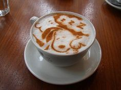 sleeping snoopy coffee