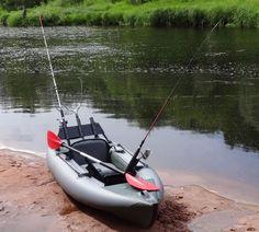 А мы представляем новый, надувной, рыболовный каяк