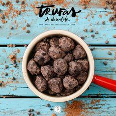 Aprendemos uma receita maravilhosa de trufas de chocolate com a querida chef Bruna Leite, simples e deliciosa para agradar a todos!