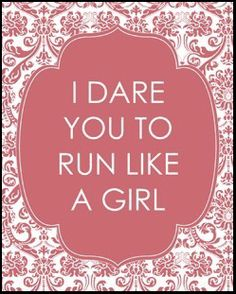 Run like a girl.. try to keep up! #running_skirts