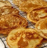 Buttermilk Pancakes with Polenta