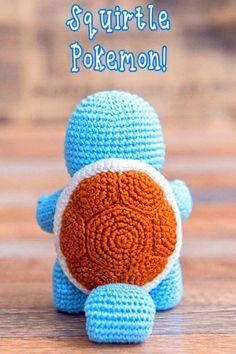 Squirtle pokemon Crochet pattern, Amigurumi Squirtle pokemon, Squirtle pokemon a. - Amigurumi : Squirtle pokemon Crochet pattern, Amigurumi Squirtle pokemon, Squirtle pokemon a… – Pokemon Crochet Pattern, Crochet Geek, Crochet Patterns Amigurumi, Crochet Gifts, Cute Crochet, Crochet Dolls, Crochet Stitches, Knitting Patterns, Squirtle Pokemon