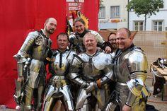 Arne Koets, Toby Capwell, Alix van Zilj, Petter Ellingsen, Bertus Brokamp, and Joram van Essen at the Grand Tournament at Schaffhausen 2014 (photo from The Wallace Collection)