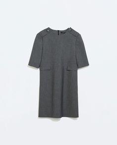 Image 6 of DRESS WITH FLAP POCKETS from Zara