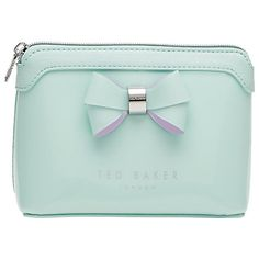 43e851ab228cfd Buy Ted Baker Harloe Bow Makeup Bag Online at johnlewis.com Ted Baker  Wallet