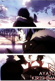 Ayato (touka's brother) - tokyo ghoul   Actually one of the top anime handsome guys for me...
