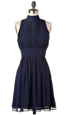 I have always wanted a navy blue dress