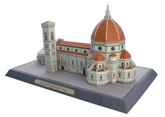Paper model Florence Cathedral - Italy designed by Canon.