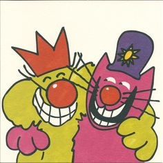 Roobarb and Custard. Loved the antics of these 2. x