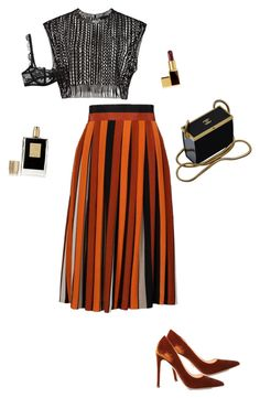 """""""Untitled #2180"""" by nujixo on Polyvore featuring Givenchy, Prada, Chanel, Kilian and Tom Ford"""