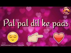 Dil ke pass ll Arijit singh ll whatsapp status song lyrics - YouTube