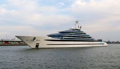 Jubilee - 110m - 361ft - Oceanco - 2017 - Oceanco's Jubilee returns from sea trials