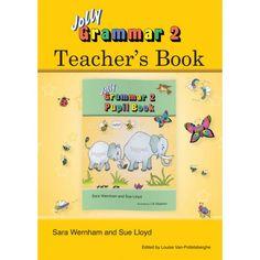 """Libro de profesor que acompañaña """"Jolly grammar 1 pupil book"""", diseñado para proveer de instrucciones de la metodología de enseñanza de Joll..."""