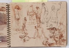 Sketchbook by Steve Huston Makes me want to spend all day drawing.