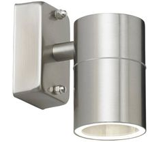 Endon Canon wall outside light – A 1 light stainless steel outdoor wall light for directing light downwards. Ideal for lighting doorways, paths and for security. suitable for use with LED lamps and dimmable. Matching items available. Outdoor Sconces, Outdoor Wall Lighting, Outdoor Walls, Home Lighting, Modern Lighting, Lighting Design, Wall Spotlights, Led Wall Lights, Thing 1