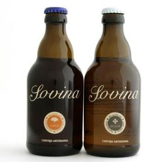 SOVINA beer. Portugal