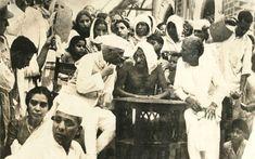 Nehru and Gandhi