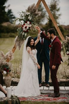 "A wedding day surrounded by loved ones in the comfort of your own backyard? We can't think of a more intimate and special way to exchange your ""I do's"". 