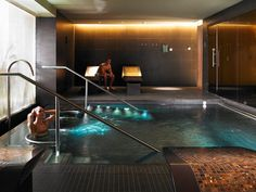 The Spa by ESPA at Gleneagles - the vitality pool.