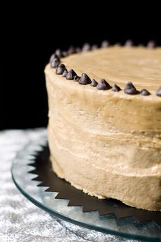 Luscious chocolate, peanut butter cheesecake. This is worth the time it takes to make. I made it for a wedding shower and there was only crumbs left!