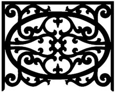 Fretwork Panels and Medallions - Wooden Antique and Victorian Styles Interior Handrails, Interior Stairs, Gable Decorations, Cedar Shutters, Wall Railing, Swami Samarth, Porch Posts, Porch Flooring, Art And Craft Design