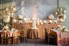 WedLuxe – Shohreh & Karim | Photography by: Ikonica Follow @WedLuxe for more wedding inspiration!