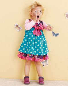 Baby Annabel Cotton Dress - Baby Girls