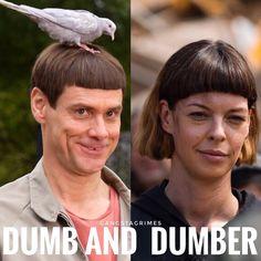 """TWD-REVENGE FAN (@twdrevengefan4life) on Instagram: """" #TWDSeason7 #TheWalkingDead #TWDFamily #twd #rickgrimes #andrewlincoln #NormanReedus…""""   Jim Carey or Jadis = Mullet (same hair/bangs) ...Eugene wears it better   The Walking Dead"""