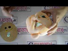 Maquillaje Ojos Muñecos Modelados - Rosita García - YouTube