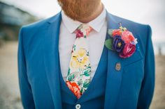 Kim and Sam's Crafty, Bright and Colourful Cornish Wedding