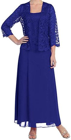 Free Jacket Lace Mother of the Bride/Groom Outfits Formal Prom Evening Mum Dress Wedding Evening Gown, Lace Evening Gowns, Evening Party Gowns, Evening Outfits, Wedding Pants Outfit, Groom Outfit, Mother Of Bride Outfits, Mother Of Groom Dresses, Mother Bride