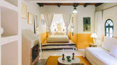 Riad baoussala -Essaouira, Morocco // the Oasis room  www.baoussala.com