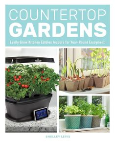Countertop Gardens- Curious about all the countertop growing devices available on the market today?  Learn what you should look for when it comes to deciding the best method for you.  Hydroponics and aquaponics are explained easily in this How-To book along with the best edible varieties for growing indoors. Book includes honest reviews on the latest growing devices plus easy DIY projects that will help you grow edibles using just a few square inches on your countertop.