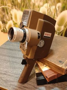 Vintage Argus Zoom Movie Camera by AtomicVault on Etsy Old Cameras, Vintage Cameras, Super 8 Camera, Treading Water, Home Theater Decor, Movie Camera, Camera Equipment, Broken Leg, Fitness Gifts