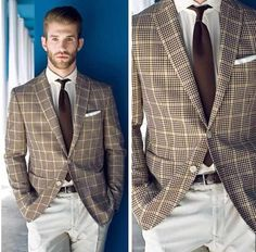 Great Prince of Wales check jacket.