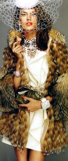 That fur tho