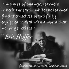 The difference between the learners and the learners...