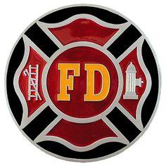 Siskiyou Gifts Firefighter Enameled Metal Hitch Cover >>> Visit the image link more details.