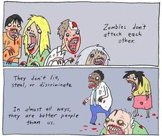 We can learn from zombies