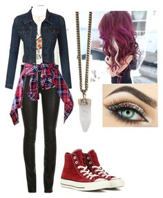 """""""Scarlett Novak"""" by mmcollins627 ❤ liked on Polyvore featuring LE3NO, Converse, Givenchy, women's clothing, women's fashion, women, female, woman, misses and juniors"""