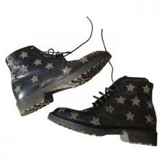 Ideas Boots Leather Black Saint Laurent For 2019 Black Ankle Booties, Black Leather Ankle Boots, Leather Booties, Short Black Boots, Ex Machina, Sock Shoes, Bootie Boots, Saint Laurent, Polyvore