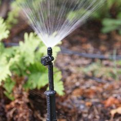 AmazonSmile : Drip Irrigation 90 Degree Adjustable Flow Spray Jet on Spike : Hose Drip Systems : Patio, Lawn & Garden