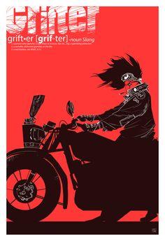 grifter poster by speedball0o on DeviantArt