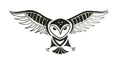 Totem Tats: Owl by ShadowyNight.deviantart.com on @DeviantArt