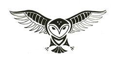 Totem Tats: Owl by ShadowyNight.deviantart.com on @DeviantArt                                                                                                                                                                                 More